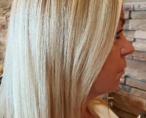 Highlights and Lowlights in Beautiful Blonde by Joy